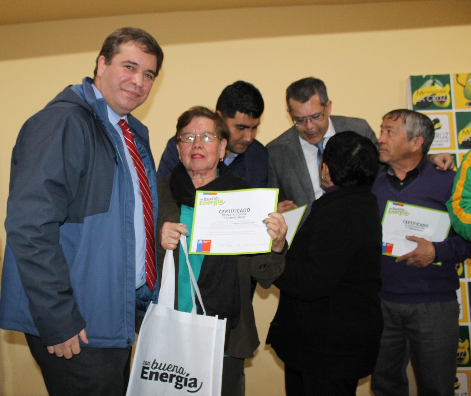 """Programa """"Con Buena Energía"""" llegó a la Provincia de Quillota"""
