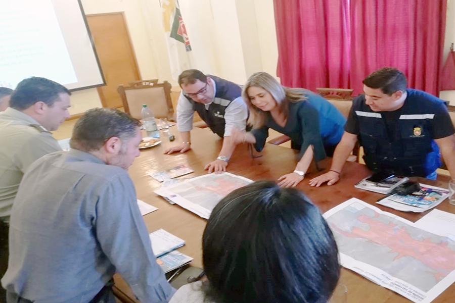 Provincia de Marga Marga se alista para simulacro de sismo y tsunami del 5 de septiembre.