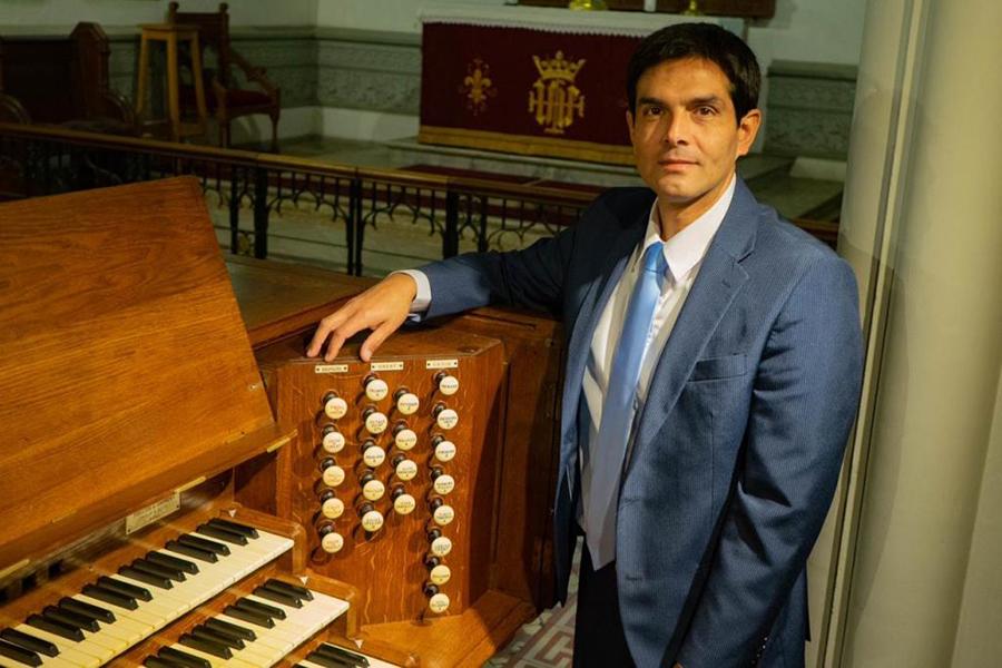 Christian Sundt ofrecerá concierto de órgano en el Día del Patrimonio