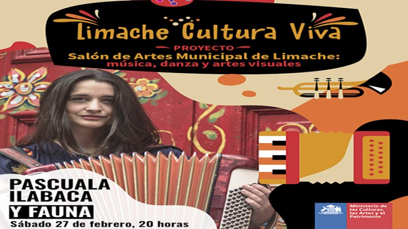 Limache lleva el arte nacional al hogar de cientos de personas.