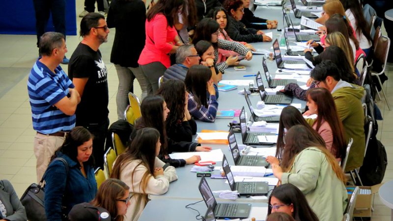 Masivo interés de estudiantes por postular a la Universidad de Playa Ancha