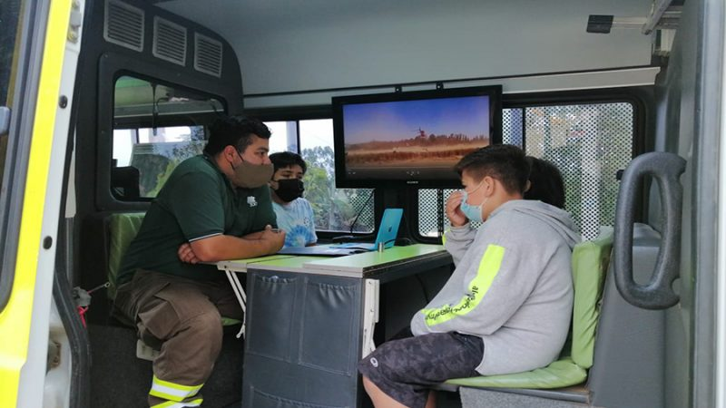 Niños de Zapallar conocen las estrategias de combate de los incendios forestales