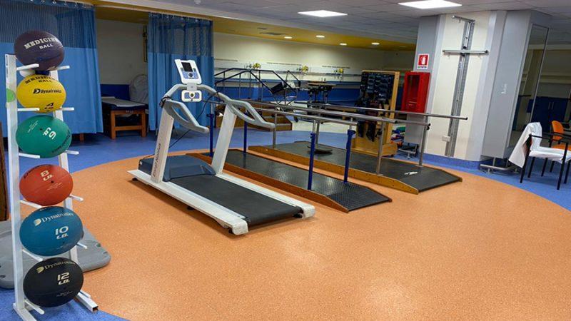 Después de Tres Años Medicina Física Vuelve a Renovadas Dependencias