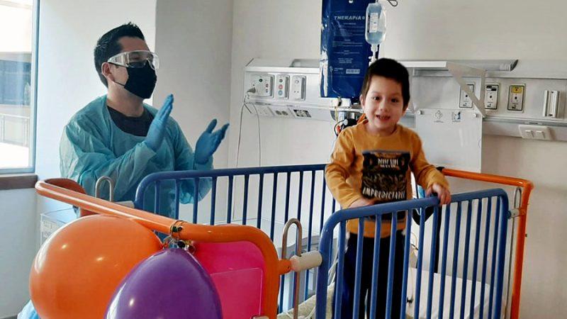 Servicios de Pediatría, Cirugía y Traumatología infantil se trasladaron al nuevo Hospital Dr. Gustavo Fricke SSVQ